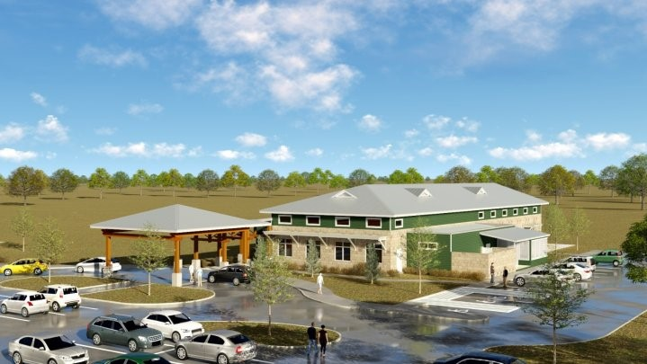 Cameron LNG Legacy Building: A New Community Center for Hackberry