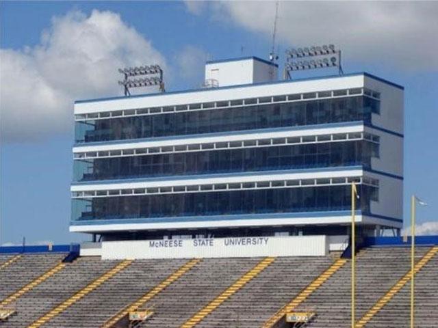 McNeese State University Stadium Press Box